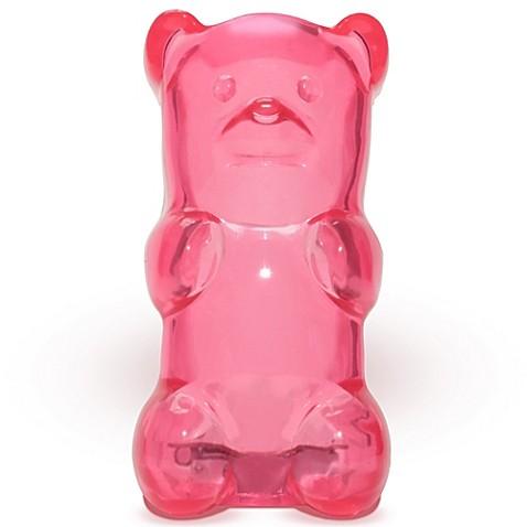 gummygoods gummy bear nightlight in pink bed bath beyond