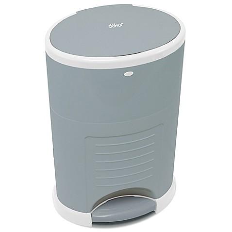 Diaper dekor kolor plus diaper disposal system in grey for Dekor plus diaper pail