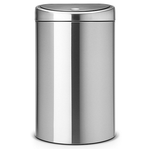 Buy Brabantia 40 Liter Touch Bin In Brushed Stainless Steel From Bed Bath Beyond