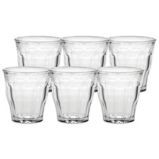 image of Duralex® Picardie 5-3/4 Ounce Glasses (Set of 6)