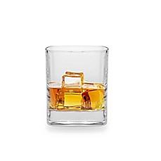 Luigi Bormioli Strauss SON.hyx Square Juice Glasses (Set Of 6)