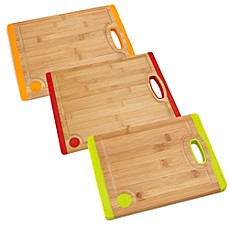 image of Fiesta® Bamboo with Silicone Cutting Boards