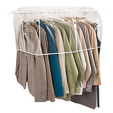 Closetware 36 Inch Clear Closet Rod Cover