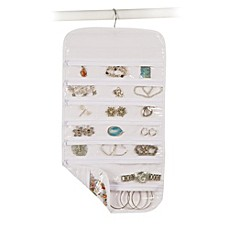 image of Closetware Clear 37-Pocket Jewelry Organizer