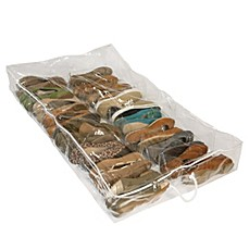 Image Of Closetware Clear Underbed Shoe Organizer Photo Gallery