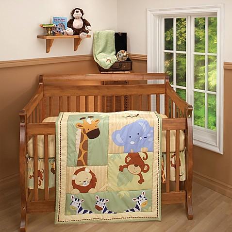 Nojo 174 Little Bedding Safari Kids Crib Bedding Collection