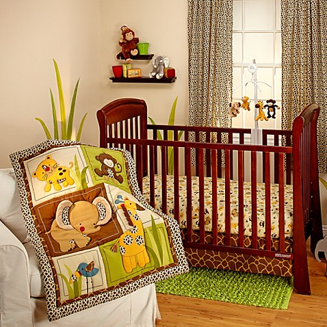 Little Bedding By Nojo 174 Jungle Dreams Crib Bedding Collection Bed Bath Amp Beyond