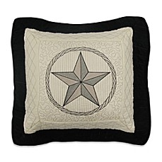 image of Donna Sharp Texas Pride Square Throw Pillow in Ivory