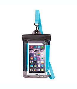 Funda impermeable para celular Travelon® color azul