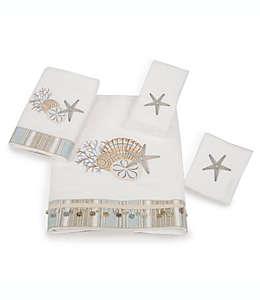Toalla para manos de algodón Avanti By the Sea® color blanco