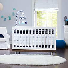 image of Just Born® Classic Collection Collection Crib Bedding in Navy