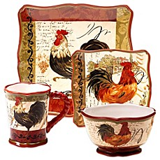 Certified International Tuscan Rooster Dinnerware  sc 1 st  Bed Bath \u0026 Beyond & tuscan dinnerware sets | Bed Bath \u0026 Beyond