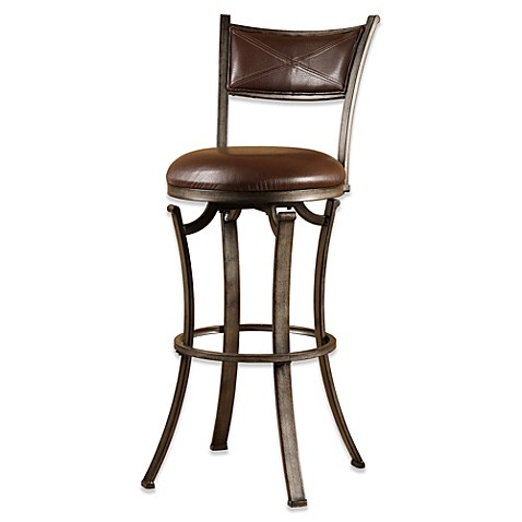 buy hillsdale drummond 26 inch swivel counter stool from bed bath beyond. Black Bedroom Furniture Sets. Home Design Ideas