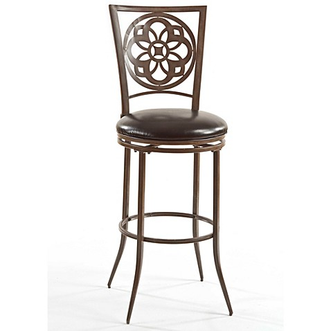 buy hillsdale marsala 26 inch swivel counter stool from bed bath beyond. Black Bedroom Furniture Sets. Home Design Ideas