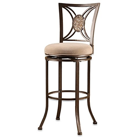 buy hillsdale rowan 26 inch swivel counter stool from bed bath beyond. Black Bedroom Furniture Sets. Home Design Ideas