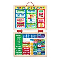 image of Melissa & Doug® My First Daily Magnetic Calendar