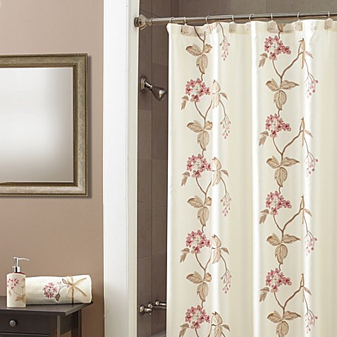 Croscill Christina Shower Curtain In Rose Bed Bath Beyond