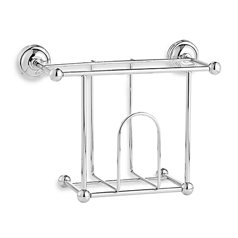 Buy Taymor Wall Mount Magazine Rack In Chrome From Bed Bath Beyond