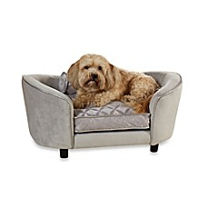 image of Enchanted Home Pet Ultra Plush Large Snuggle Bed in Quicksilver