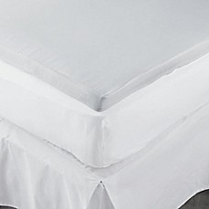 Image Of Theic 2 Inch Memory Foam Mattress Topper