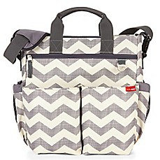 image of SKIP*HOP® Duo Signature Diaper Bag in Chevron