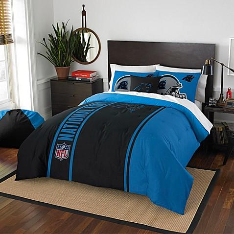 nfl carolina panthers bedding - bed bath & beyond