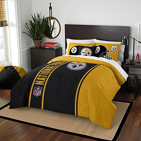 Merveilleux NFL Pittsburgh Steelers Bedding