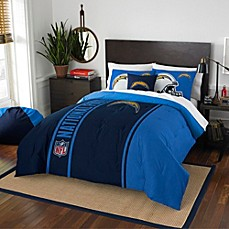 image of NFL San Diego Chargers Embroidered Comforter Set