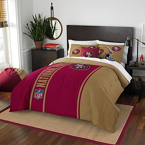 Nfl San Francisco 49ers Bedding Bed Bath Amp Beyond