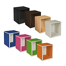 image of Way Basics Tool-Free Assembly Stackable Tall Storage Cube Plus