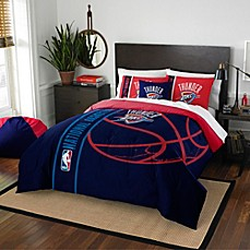 image of NBA Oklahoma City Thunder Embroidered Comforter Set