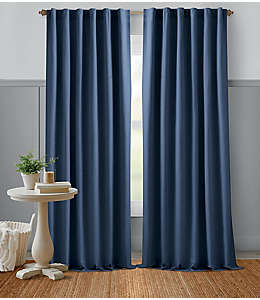 Cortina Bee & Willow™ Home, 2.13 m color azul