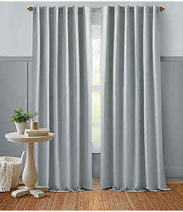 Cortina Bee & Willow™ Home, 2.13 m color gris roca