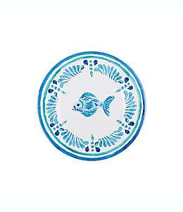 Plato para ensalada Fish Medallion