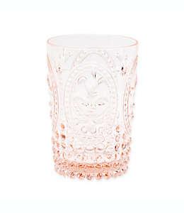 Vaso de plástico old fashion Destination Summer vintage color rosa