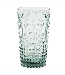 Vaso de plástico alto Destination Summer vintage color verde