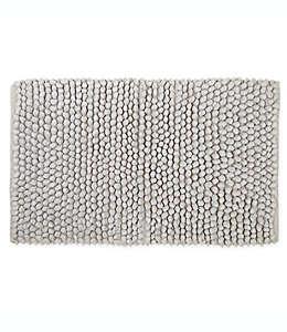 Tapete para baño de algodón Haven™ Pebble color gris neblina