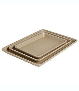 Charolas para hornear de acero Our Table™, Set de 3 pzas