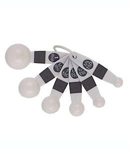 Cucharas medidoras Simply Essential™ color gris