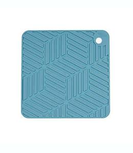 Salvamanteles de silicón Our Table™ color azul