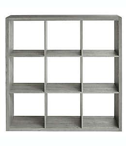 Organizador Squared Away™ de 9 compartimentos color gris