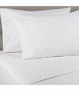 Funda para almohada estándar/queen de algodón percal Wild Sage™ color gris leopardo