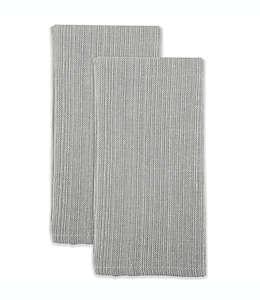 Servilletas de algodón Our Table™ color gris, Set de 2 piezas