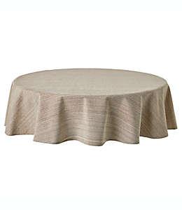Mantel redondo de algodón Our Table™ de 1.77 m color natural