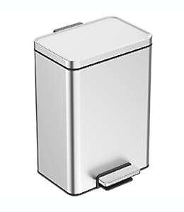 Bote de basura de acero inoxidable Squared Away™ rectangular