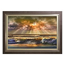 image of Waves of Light Wall Art