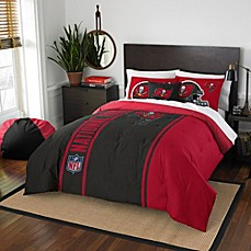 image of NFL Tampa Bay Buccaneers Embroidered Comforter Set