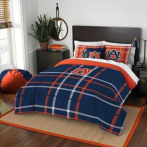 Auburn university embroidered comforter set bed bath for Auburn bedroom ideas