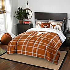 image of University of Texas Embroidered Comforter Set