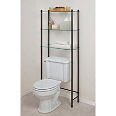 Lu0027Etagere Over The Toilet Space Saver In Oil Rubbed Bronze